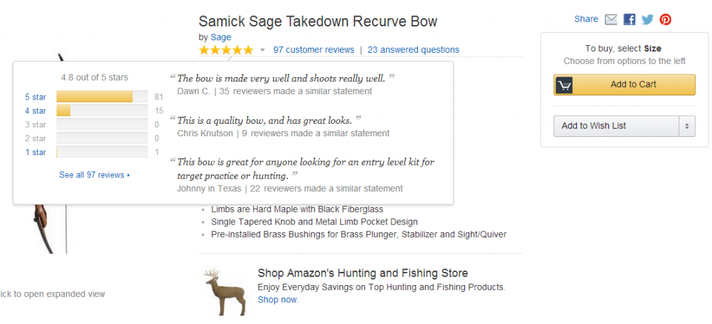Amazon Customer Reviews & Product Scores
