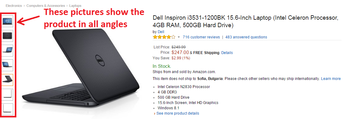 Amazon SEO Product Images
